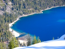 Emerald Bay in April