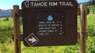 Tahoe Meadows Trailhead