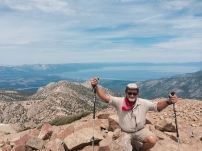 Freel Peak, 10,881' The highest peak in the Tahoe Basin