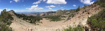 Pano from west side of Relay Peak
