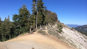 Spine of the ridge