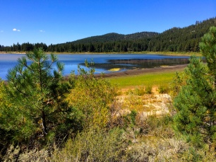Spooner Lake - water quality not good in drought years