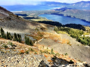 Trail from Mt. Tallac