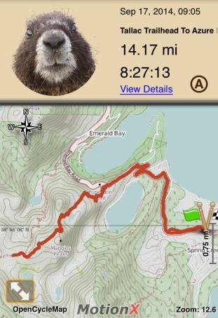 Maggie's Peaks to Azure Lake
