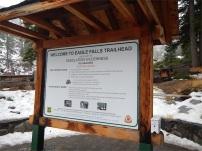 Trailhead to Eagle Falls