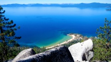 Sand Harbor to Tahoe City
