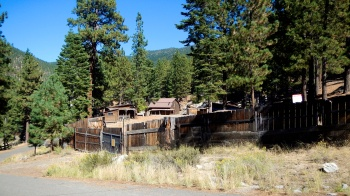 Old Ponderosa Ranch movie set
