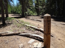 Trail Junction to Stanford Rock