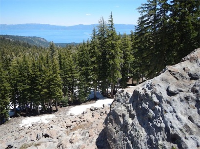 Lake Tahoe from Twin Peaks