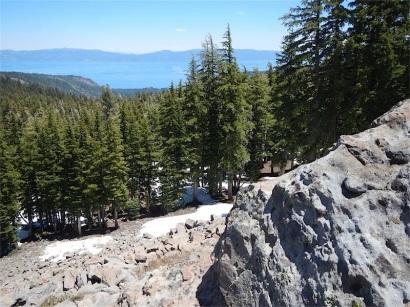 Lake Tahoe from Twin Peaks