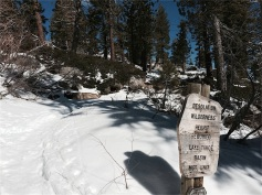 Entering Desolation Wilderness