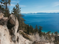 View above Sand Harbor