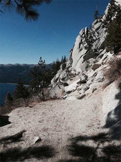 Trail gets narrow