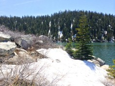 Chimney Point in May