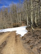 Trail to Marlette Peak