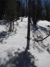 Deep drifts remain in May