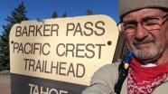 Marmot at Barker Pass 2014