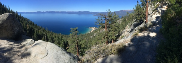 View from Flume Trail