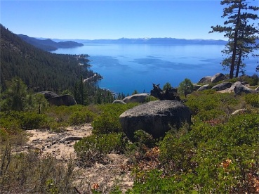 Tahoe to the southwest