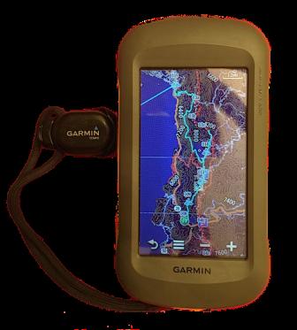 Garmin Montana 600 GPS w/ Temp Sensor