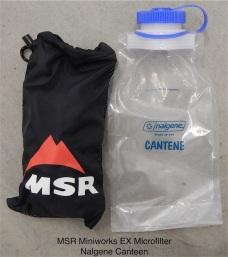 MSR Miniworks H2O Filter