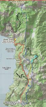 Photo Courtesy Flume Trail Tahoe