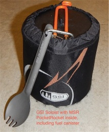 GSI Soloist cooking kit w/ Stove