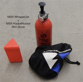 MSR Pocket Rocket/WhisperLite