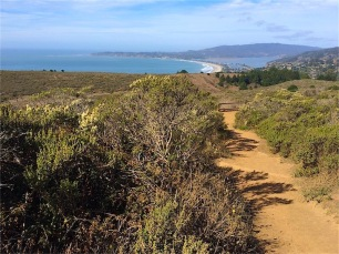 Stinson and Bolinas in the distance