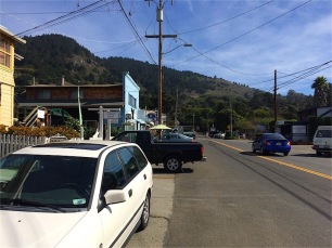 Downtown Stinson looking south
