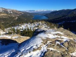 Donner Lake from Vista Point