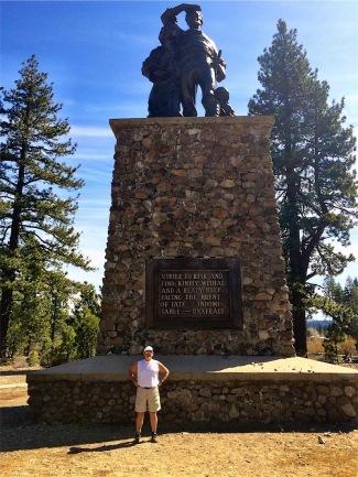 Me at Donner Memorial