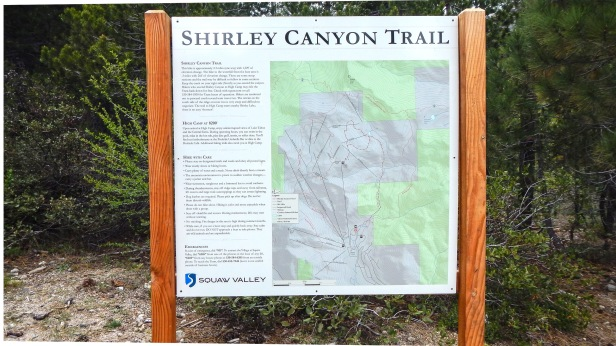 Shirley Canyon Trailhead