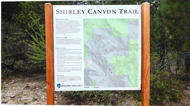 Shirley Canyon Trailhead
