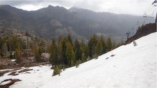 Under the Solitude Ski Run