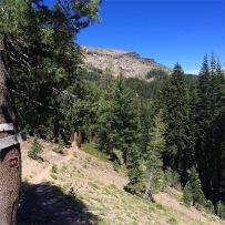Nearing Castle Pass