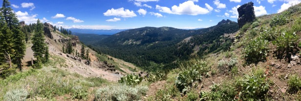 Pano from the ridge