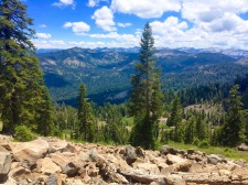 View from Tahoe Rim Trail to the south