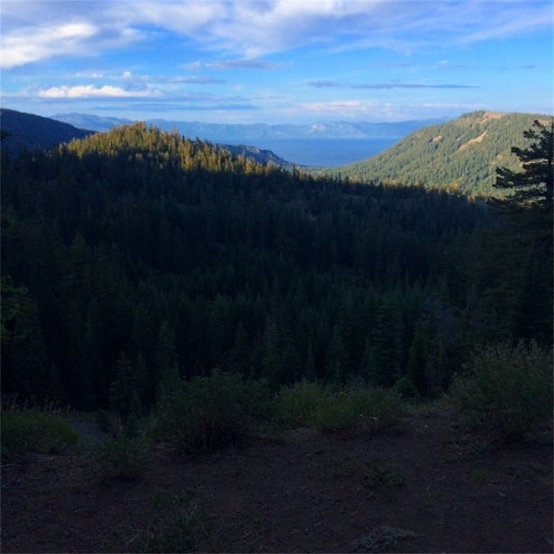 Lake Tahoe from campsite